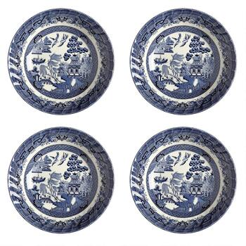 Blue Willow Imperial Soup Bowls, Set of 4 view 2