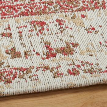 Red Venezia Tapestry All-Weather Rug view 2