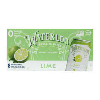 WATRLOO LIME 8PK 8/0 view 1
