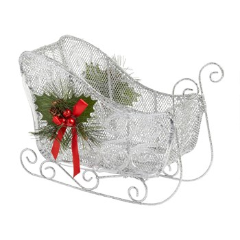 "12"" Christmas Sled Decor"