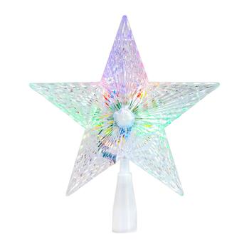 LED Color Changing Star Tree Topper