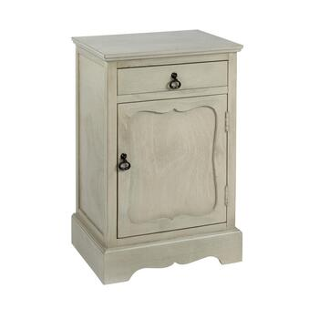 The Grainhouse™ Gray 1-Door/1-Drawer Cabinet