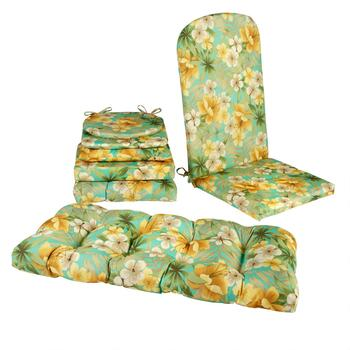 Orange Lily All-Weather Seat Cushions Collection