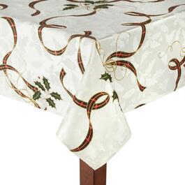 Famous Maker Damask Print Tablecloth