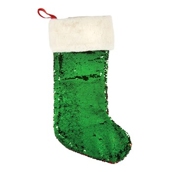 Two-Tone Sequined Stocking view 2