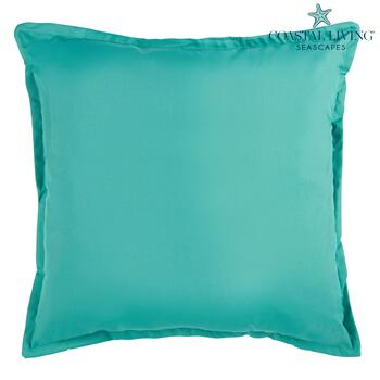 Coastal Living Seascapes™ Mint Solid Indoor/Outdoor Large Throw Pillow