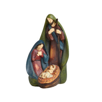 "9.5"" Family Nativity Scene view 1"