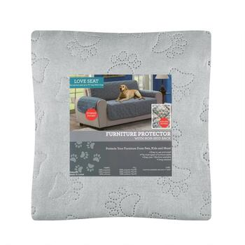 Paw Print Pattern Loveseat Furniture Cover