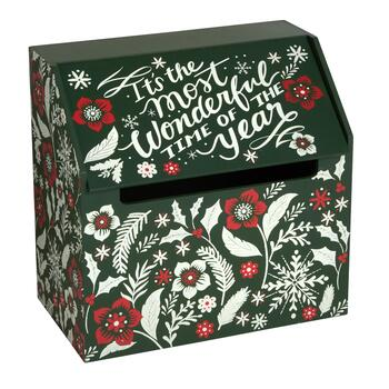 """Wonderful Time of the Year"" Winter Storage Box"
