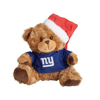 "10.5"" New York Giants Santa Bear"