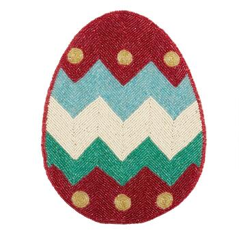 Beaded Easter Egg Placemat