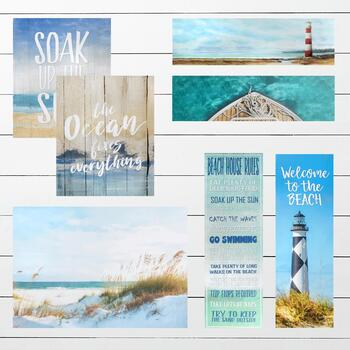 Coastal and Beach Indoor/Outdoor Canvas Wall Art
