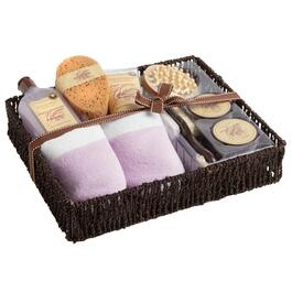 French Lavender Scented Bath Gift Set, 8-Piece