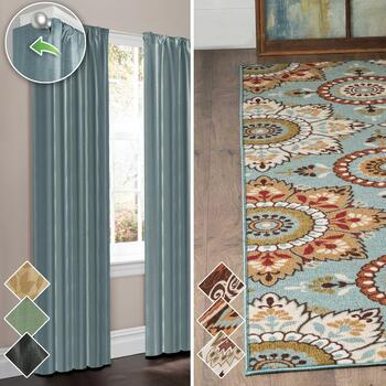 Thermal Shield® Curtains & Printed Rugs