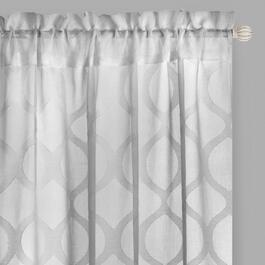 "84"" Hereford Sheer Rod Pocket Window Curtains, Set of 2"