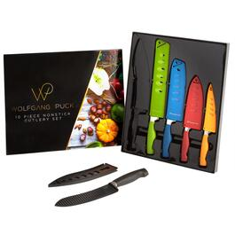 Wolfgang Puck Nonstick Cutlery Set, 10-Piece