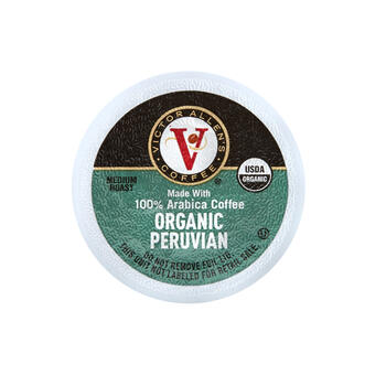 Victor Allen's® Organic Peruvian Coffee Pods, 60-Count view 1