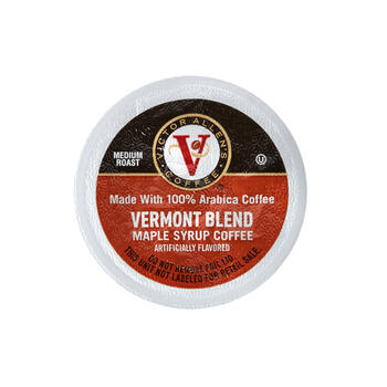 Victor Allen's® Vermont Maple Syrup Blend Medium Roast Coffee Pods, 60-Count view 1
