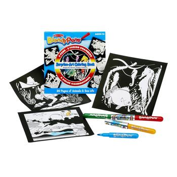 Melissa & Doug® BlendyPen™ Animals & Sea Life Coloring Book