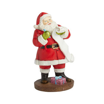 "9"" Santa and List Figurine view 1"