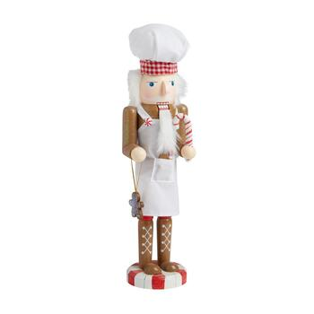 "15"" Gingerbread Baker Nutcracker"