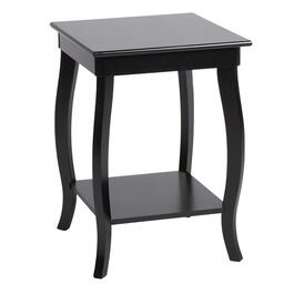 Curved Leg Square Accent Table