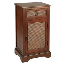 1 Door Drawer Tambour Cabinet