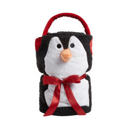 Portable Penguin Throw Blanket view 1