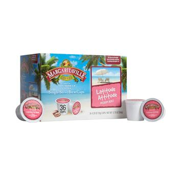 Margaritaville® Latitude Attitude Coffee Pods, 4 Boxes