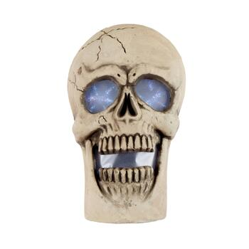 "24"" Foam Skull LED Halloween Decor"