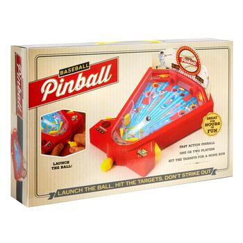 Baseball Pinball Game