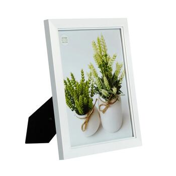"8""x10"" White Step Picture Frame"