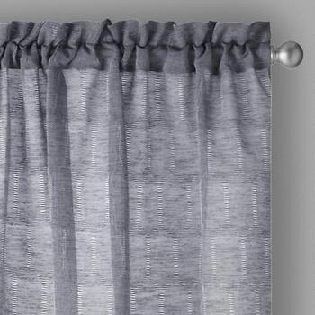 "The Grainhouse™ 84"" Geo Circles Window Curtains, Set of 2"