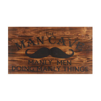 "18""x32"" ""the Man Cave"" Wood Wall Decor view 1"