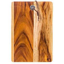 "10"" Acacia Wood Rectangular Cutting Board view 1"