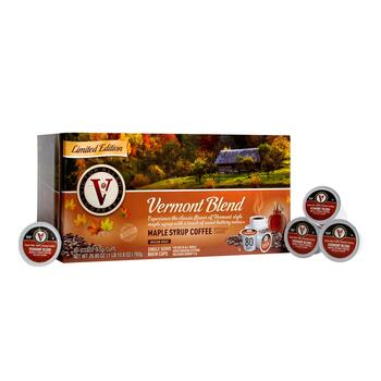 Victor Allen's® Vermont Blend Maple Syrup Coffee Pods, 80-Count view 1
