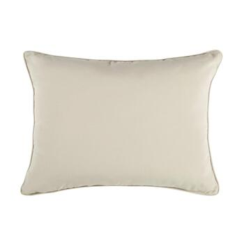 Traditions by Waverly® Solid Beige Indoor/Outdoor Oblong Throw Pillow