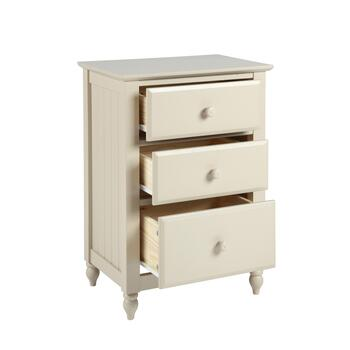 Cottage Taupe 3-Drawer Dresser view 2