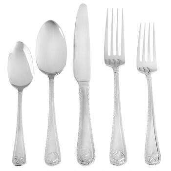 Towle® Antigua Frost Stainless Steel Flatware Set, 20-Piece