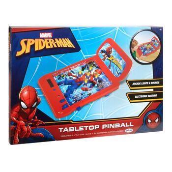 Marvel® Spiderman Electronic Tabletop Pinball Game