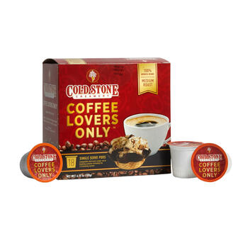 Cold Stone® Coffee Lovers Only™ Coffee Pods, 6 Boxes view 1