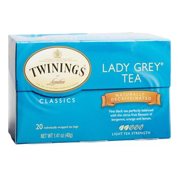 Twinings® Lady Grey Decaf Black Tea, 6 Boxes
