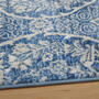The Grainhouse™ Blue Damask Area Rug view 2