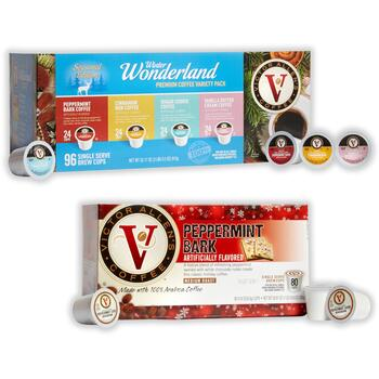 Victor Allen's® Winter & Peppermint Coffee Pods
