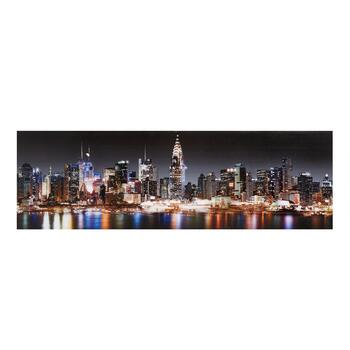 "18""x55"" New York Skyline Wall Art"