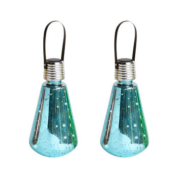 Solid Metallic Edison-Style Bulbs, Set of 2 view 1