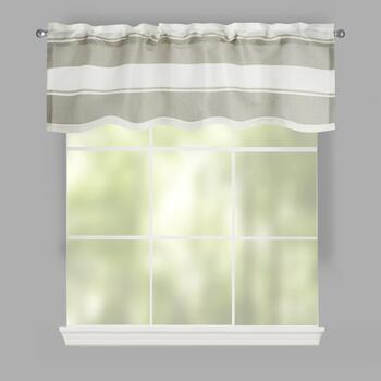 Cole Stripe Window Valances, Set of 2