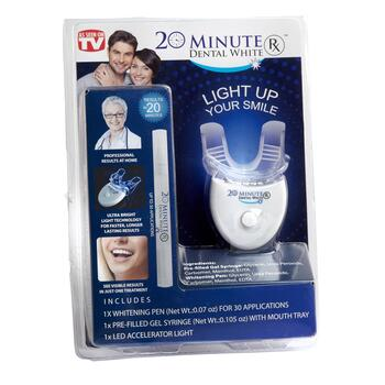 As Seen on TV 20 Minute Dental White RX™
