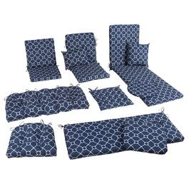 Nautical Knots Indoor/Outdoor Seat Pads Collection
