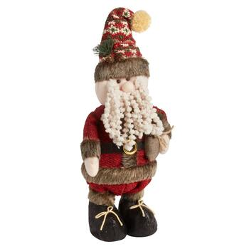 "18"" Standing Santa with Gift Sack"